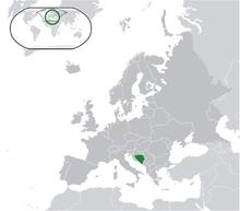 Gif Drapeau Bosnie-Herzégovine (2)