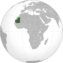 Gif Drapeau Mauritanie (2)