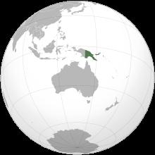 Gif Drapeau Papouasie-Guinée (2)