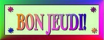 Bon Jeudi (1)