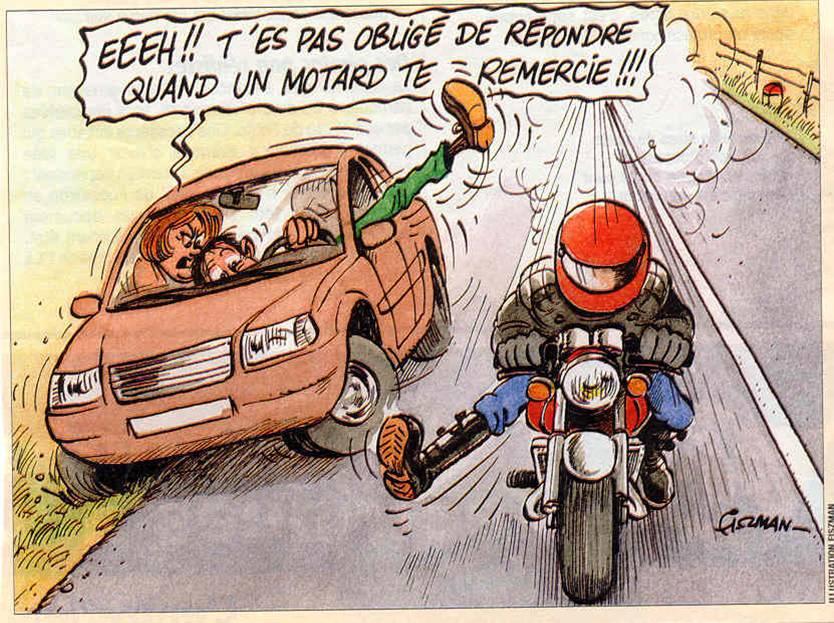 Prudence sur la route