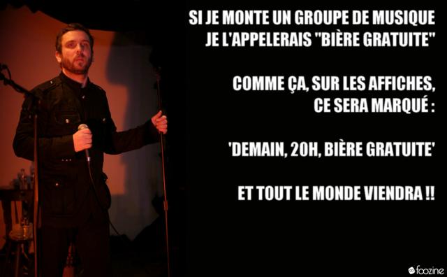 Panneau Humour Foozine